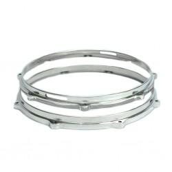 Par de Aros Die Cast de Alumínio Polido 3,5mm com 14