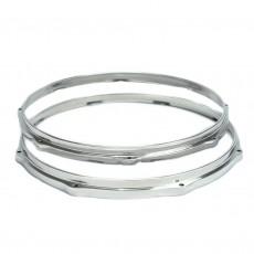 Par de Aros Die Cast de Alumínio Polido 3,5mm com 18