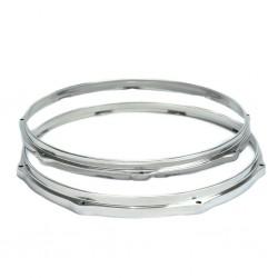 Par de Aros Die Cast de Alumínio Polido 3,5mm com 16